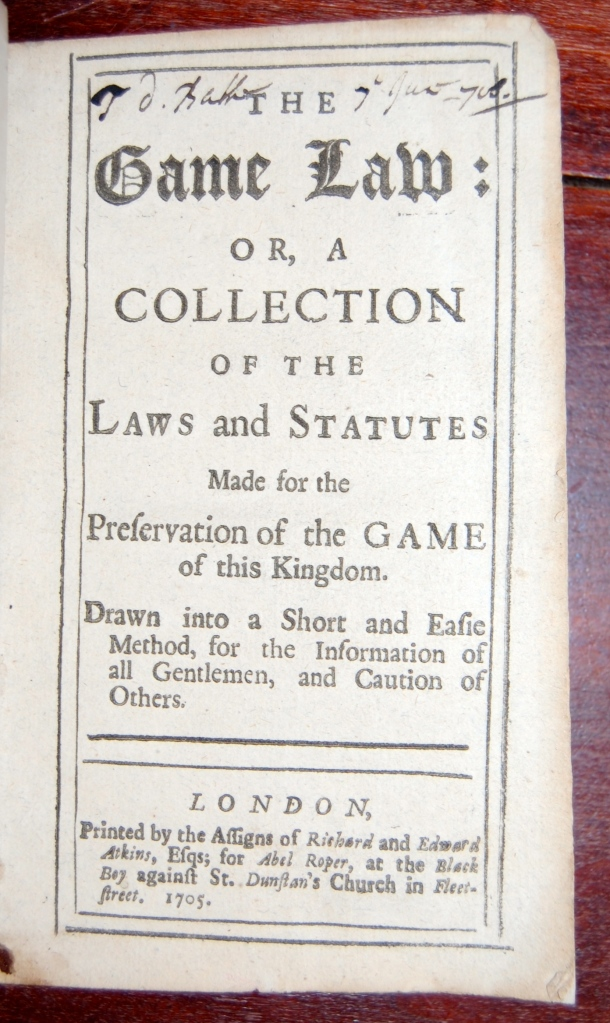 Game Law