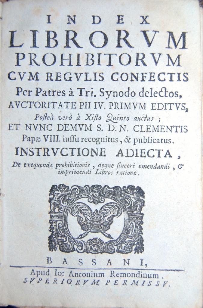 Index Librorum Prohibitorum  1699, Title  344G