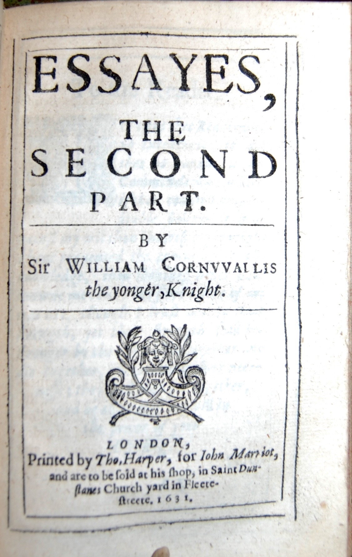 sir william cornwallis of brome