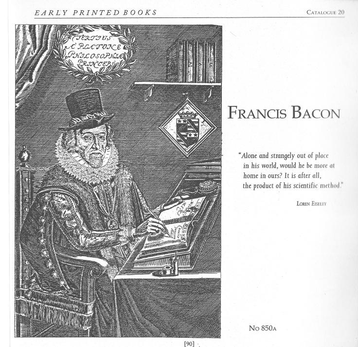 Bacon Catalogue 20 1998