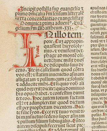Book,-Postilla-Super-Epistolas-et-Evangelia,-Guillermus-Parisensis,-1488_detail_JG