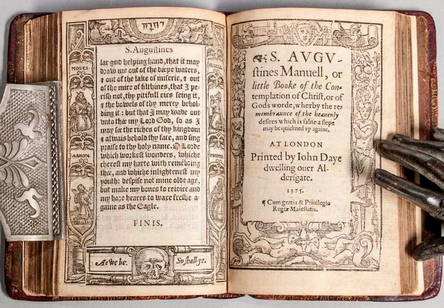 augustine-saint-354-430-certaine-select-prayers-gathered-out-of-s-augustines-meditations-bound-with-s-augustines-manuell 2