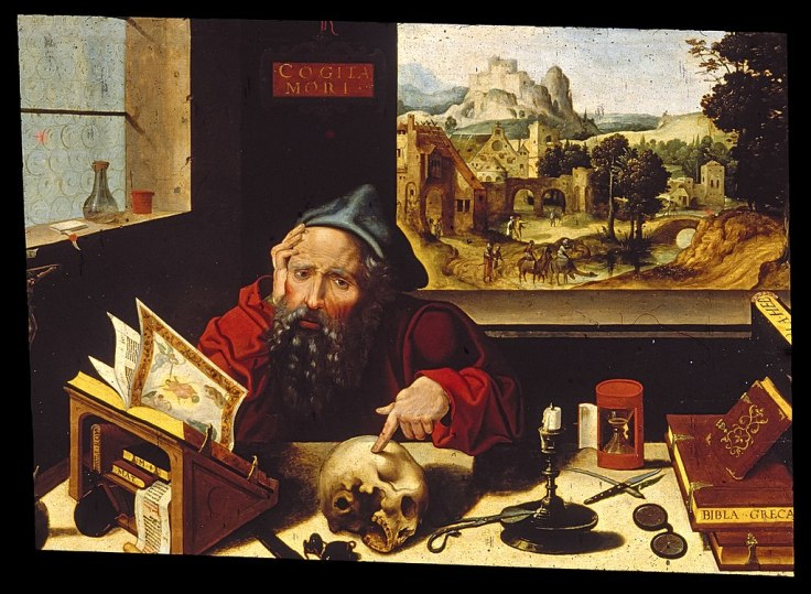 1024px-Workshop_of_Pieter_Coecke_van_Aelst,_the_elder_-_Saint_Jerome_in_His_Study_-_Walters_37256